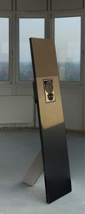 One module of the multichannel listening station. There will be ones with and ones without the speaker. Together they cr...