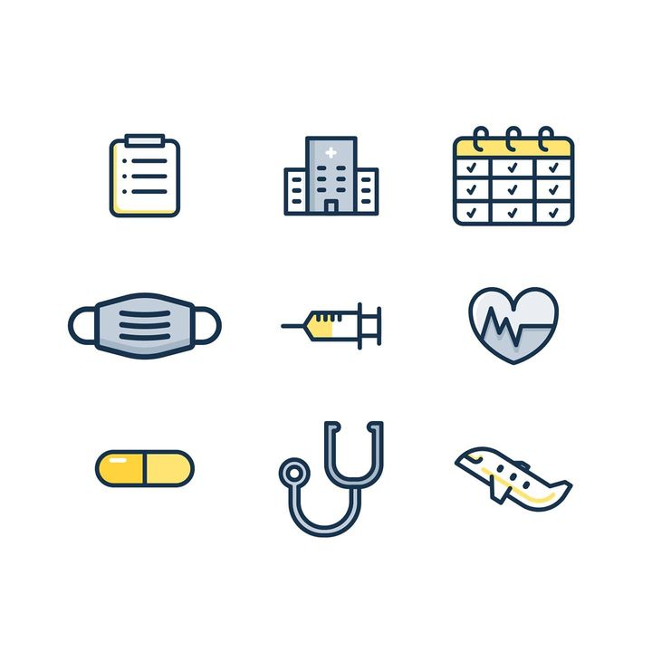 Now relevant more than ever.I designed these icons more than a year ago for Medigo, working with my amazing friends @frk...