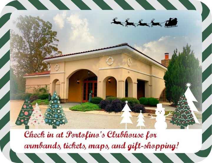 See you TODAY at the Christmas in Clayton Art & Home Tour--2:00 to 5:00 pm!
