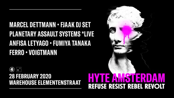 Hot on the heels of its standout New Years event in Berlin, Friday, February 28th will see HYTE is back on the road and ...