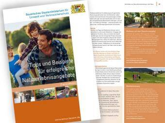"""Neuer Praxisleitfaden zum #Naturtourismus erschienen. Der Leitfaden """"Tipps und Beispiele für erfolgreiche Naturerlebnisa..."""