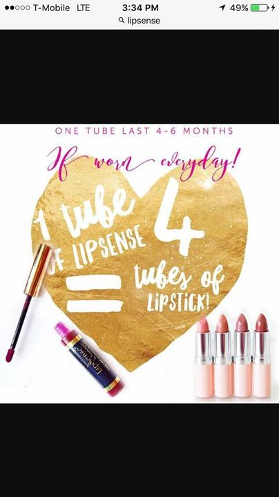 Hey everyone! Please check out my new venture! LipSense, not only is is made with Vitamin E and Shea, it last up to 16 h...