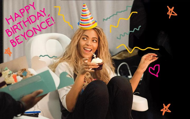 Want to be on the guest list? Show some B-day love to Bey. Beyoncé turns 38 today. The first 38 people to wish her a Hap...